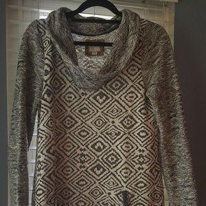 Anthropologie Postmark Konya Tunic Sweater Sz M